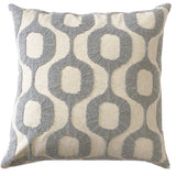 Pillow Décor Top Knots Light Blue Textured Throw Pillows