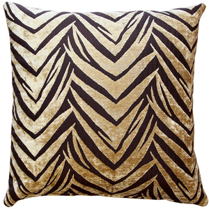 Samba Gold 20x20 Throw Pillow