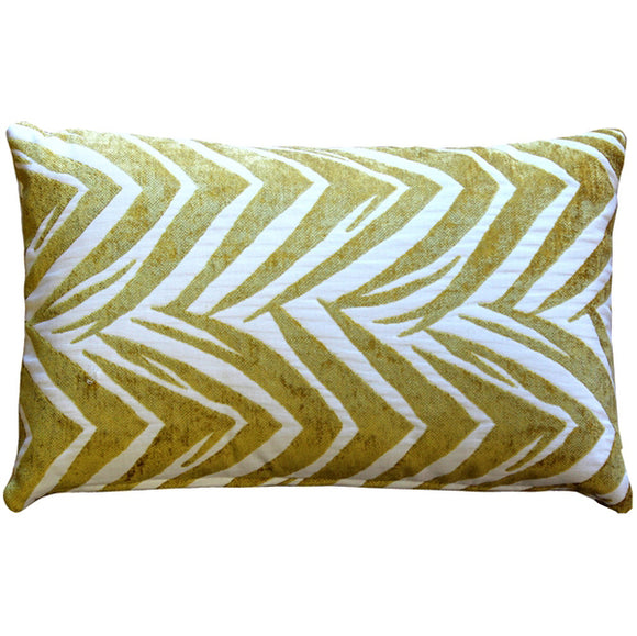 Samba Yellow 12x20 Throw Pillow