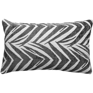 Samba Gray 12x20 Throw Pillow