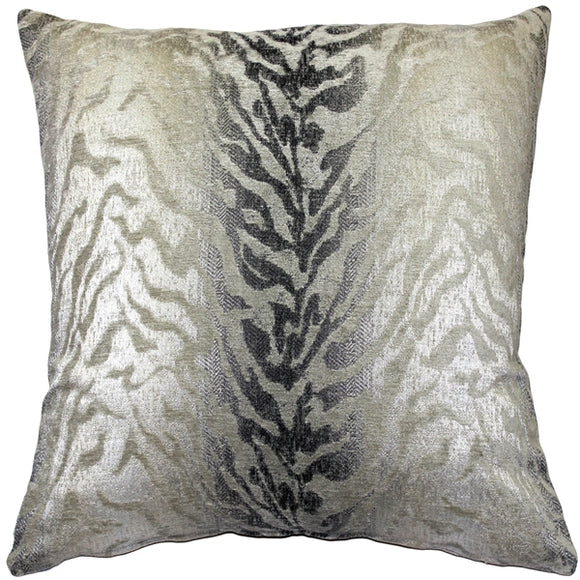 Ruffino Fog Chenille Throw Pillow 24x24