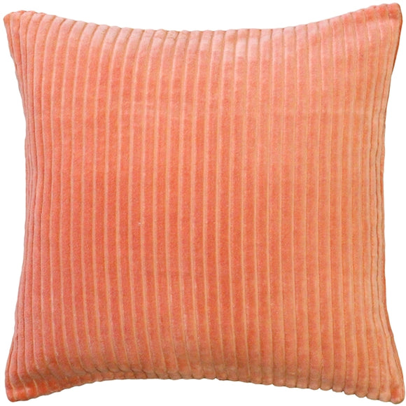Cotton Corduroy Pumpkin Throw Pillow 16x16