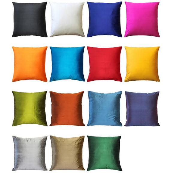 Sankara Silk Throw Pillows 18x18
