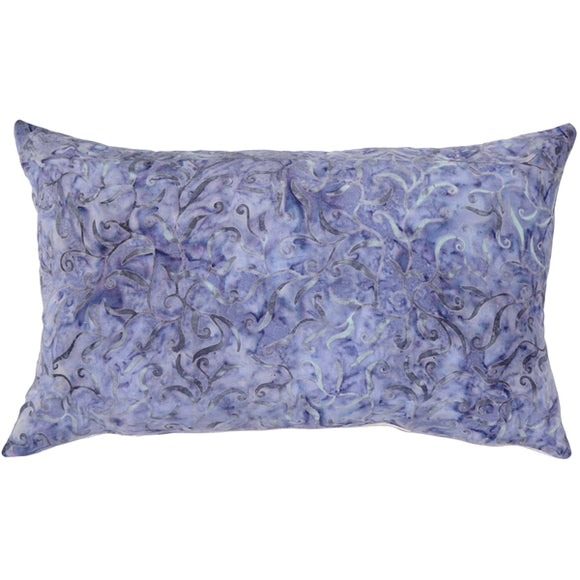 Purple Haze Floral Throw Pillow 13x22
