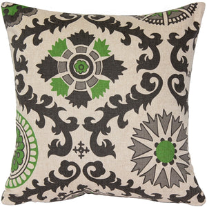 Irish Green Throw Pillow 16x16