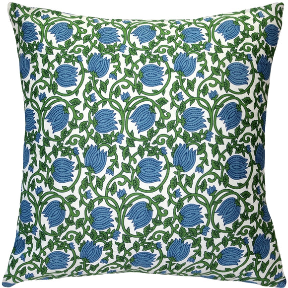 May Garden Floral Throw Pillow 19x19