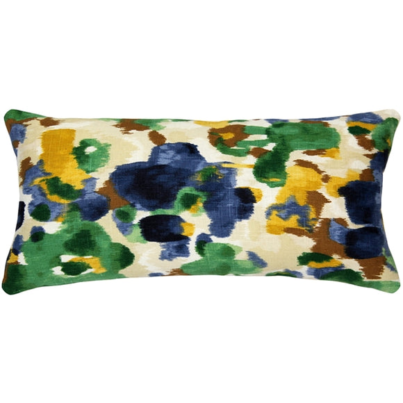 Brandy Bay Floral Throw Pillow 11x22
