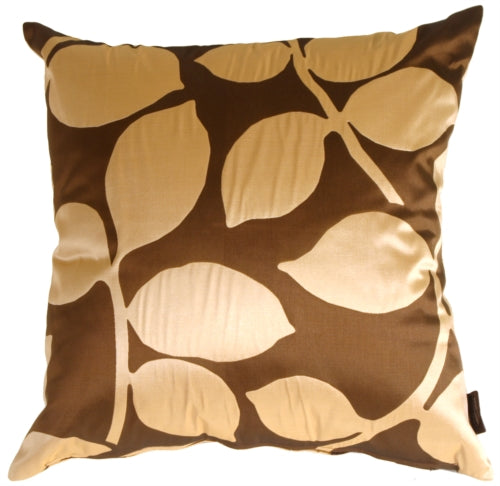Organic Leaf Brown Pillow
