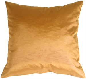 Metallic Gold Throw Pillow