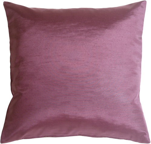 Metallic Purple Throw Pillow