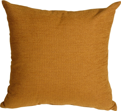Arizona Chenille 20x20 Ochre Throw Pillow
