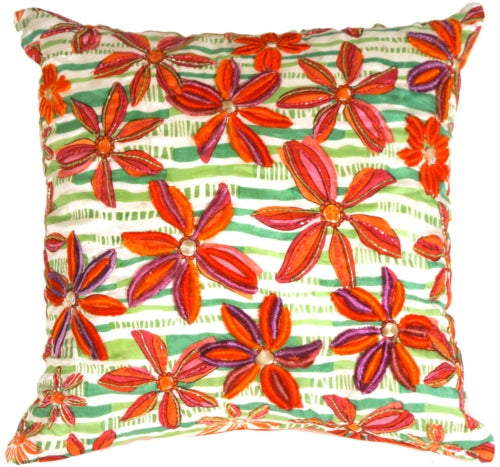 Tahiti Flower Pillow