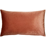Corona Rose Blush Velvet Pillow 12x20