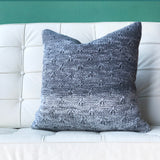 18x18 Hygge Storm Gray Knit Pillow