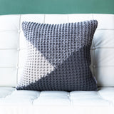 18x18 Hygge North Star Knit Pillow