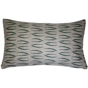 Luonto Eka Green Throw Pillow 12x19