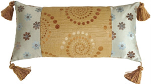 Summer Sand Decorative Pillow (WITH TASSELS)