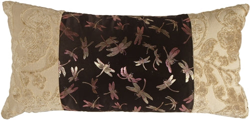 Dragonfly Dream Decorative Pillow (NO TASSELS)