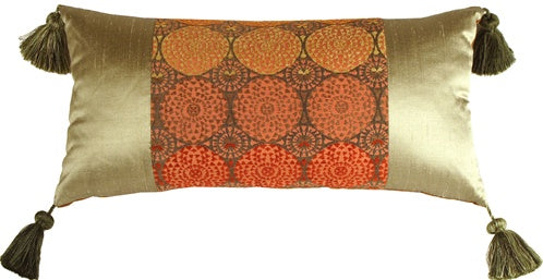 Nirvana Sun Decorative Pillow (WITH TASSELS)