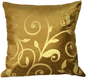 Liquid Gold Square 20x20 Accent Pillow