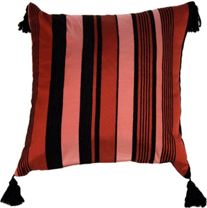 Dramatic Stripes Accent Pillow