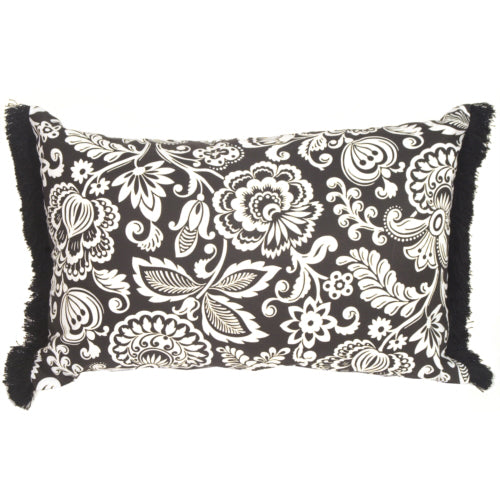 Flower Power Rectangle Accent Pillow