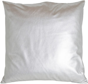 Vegas Silver Decorative Pillow