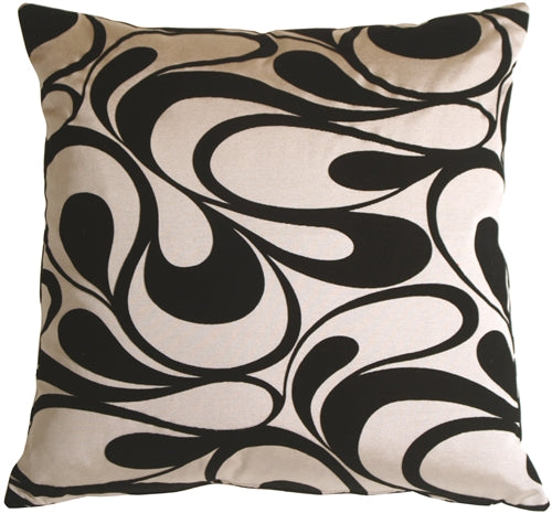 Dramatic Swirls Silver 24