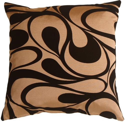 Dramatic Swirls Gold 19