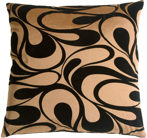 Dramatic Swirls Gold 24