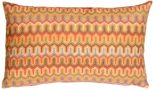 Monterey Bay Multi-Color Rectangular Toss Pillow