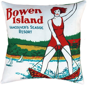 Bowen Island Outdoor Throw Pillow
