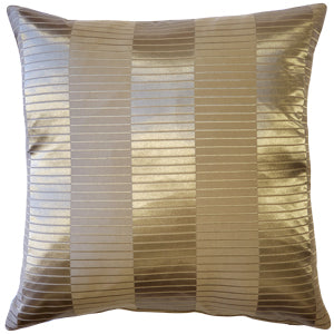 Pinctada Pearl Dark Taupe Throw Pillow 19x19