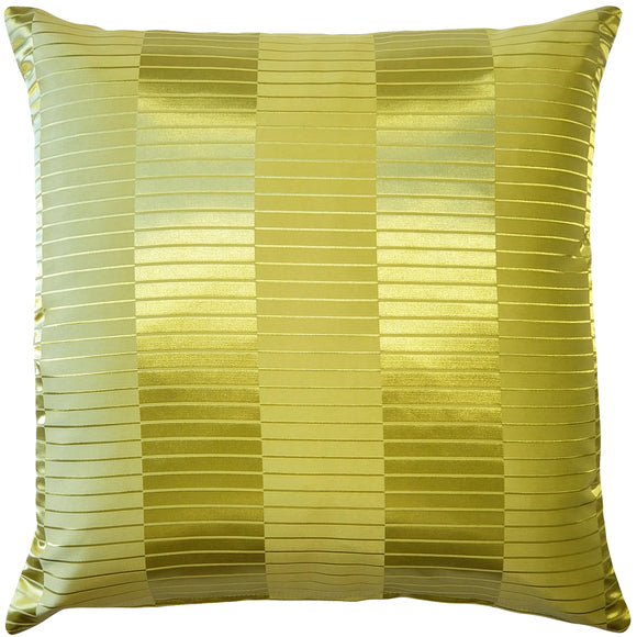 Pinctada Pearl Lime Green Throw Pillow 19x19