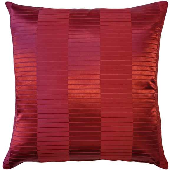 Pinctada Pearl Burgundy Red Throw Pillow 19x19
