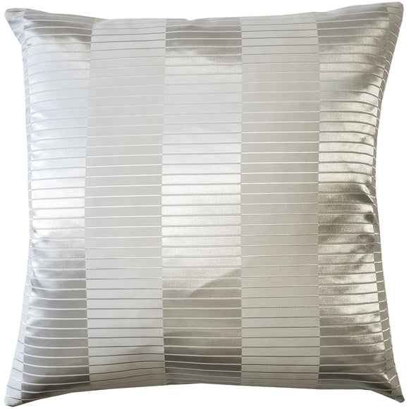 Pinctada Pearl Pale Silver Throw Pillow 19x19