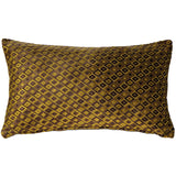 Jager Sage Diamond Throw Pillow 12x20