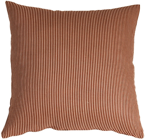 Ticking Stripe Sienna 18x18 Throw Pillow