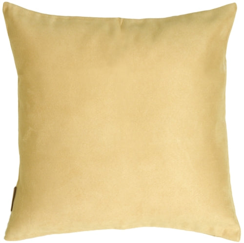 15x15 Royal Suede Chamois Throw Pillow