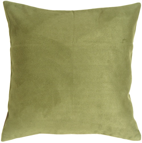 15x15 Royal Suede Sage Green Throw Pillow