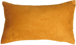 12x20 Royal Suede Toffee Throw Pillow