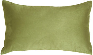 12x20 Royal Suede Sage Green Throw Pillow