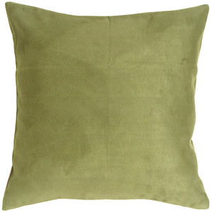 18x18 Royal Suede Sage Green Throw Pillow