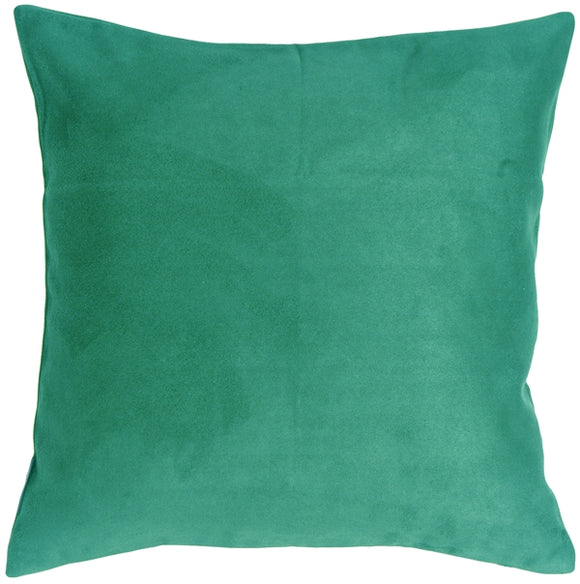 18x18 Royal Suede Turquoise Throw Pillow
