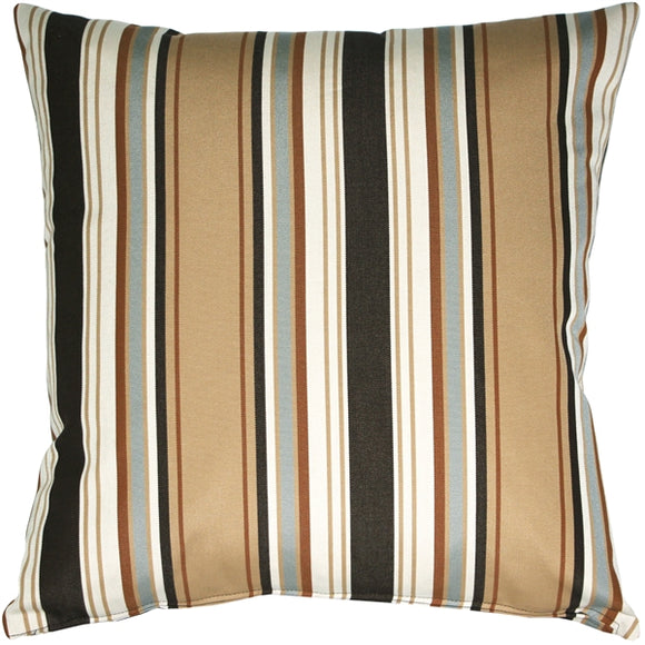 Outdura Tradewinds Driftwood Throw Pillow 20x20