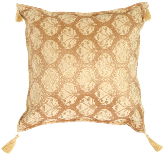 Golden Leaf Pillow