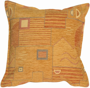 Contemporary Geometry Tan Pillow