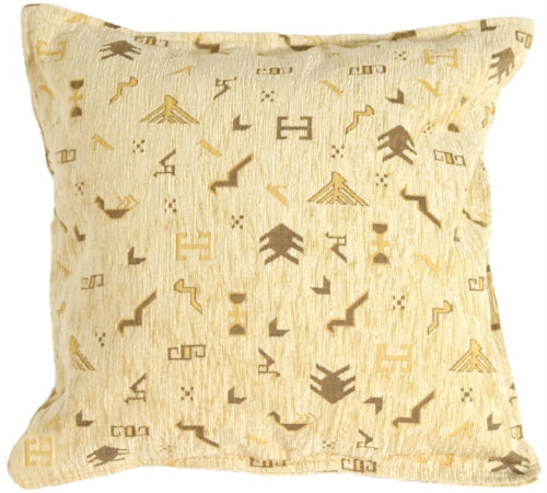 Tribal Yellow Pillow