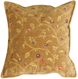 Golden Vine Pillow
