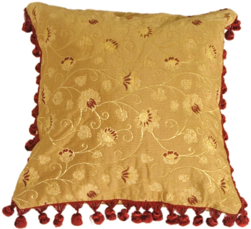 Tasseled Vines Pillow